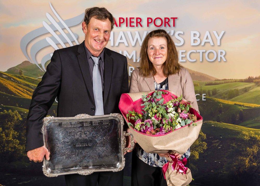 2018 Silver Fern Farms Hawke's Bay Farmer of the Year David Danks, managing Monarae Station for the Pam Torbett Charitable Trust