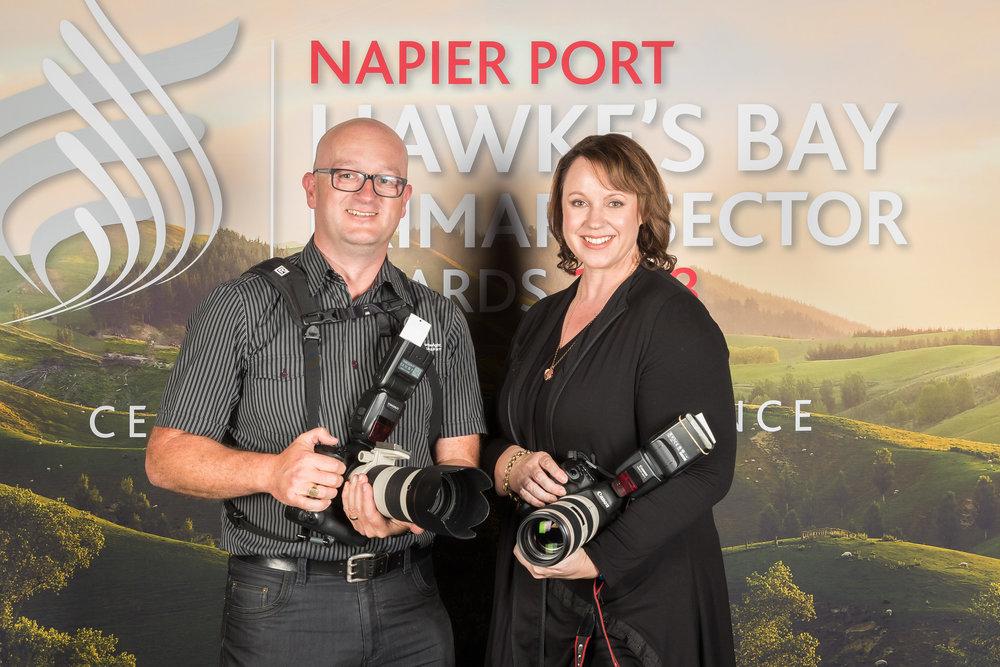 Photographers Simon Cartwright & Loren O'Connor