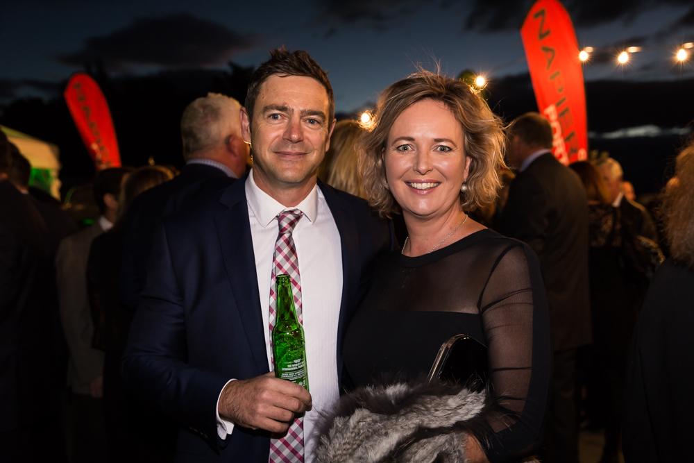 HDC Councillor Damon Harvey & Anna Lork