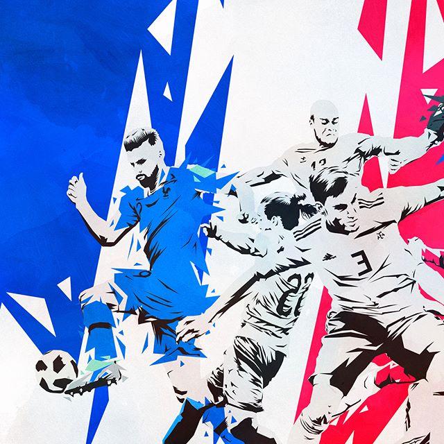 #France vs #croatia 🇫🇷🇭🇷 #equipedefrance @equipedefrance #fracro #hns @hns_cff @k.mbappe29 #kylianmbappe #lukamodric @lukamodric10 @oliviergiroudofficial #oliviergiroud @anterebic #anteredic