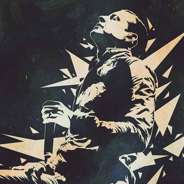 One year ago died one of the most incredible rock voices! Chester Bennington from @linkinpark which is my favourite rock band since I was a kid... Be well my friend! @m_shinoda @braddelson @phoenixlp @mrjoehahn @robbourdon #chesterbennington #linkinpark #rock #singer #numetal . . . . #artistsofinstagram #dailydrawing #artsy #artistsoninstagram #graphicdesign #digitalart #instagood #dribbble #illustrator #instaart #digitalillustration #artoftheday #artwork #art #vaniladesign