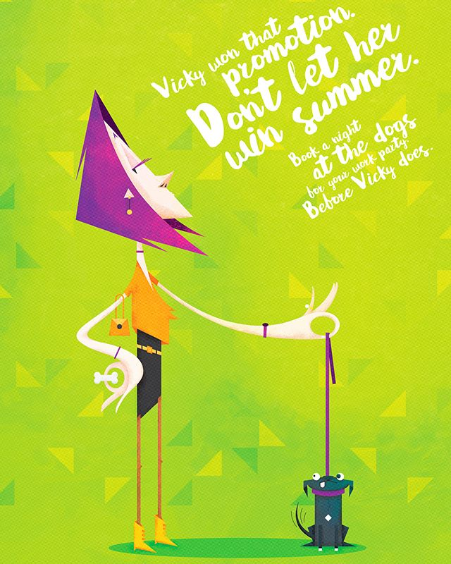 Lovely illustration I did while ago with @atomicdublin for @gogreyhoundracing 🐶 2/2 #dontletthemwin #summer #greyhoundracing #advertising . . . #dribbble #artoftheday #illustrationart #illustration #artist #artistoftheday #illustrationoftheday #color #creative #art #artwork #digitalart #dogs #illustrationgram #artoninstagram #creativeart #2d #illustrationartists #designinspiration #illustree #inspiration #adobe #portfolio #vanilladesign #instaart #drawing