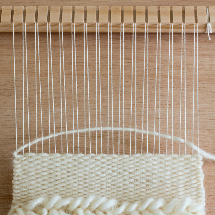 Arching the Weft