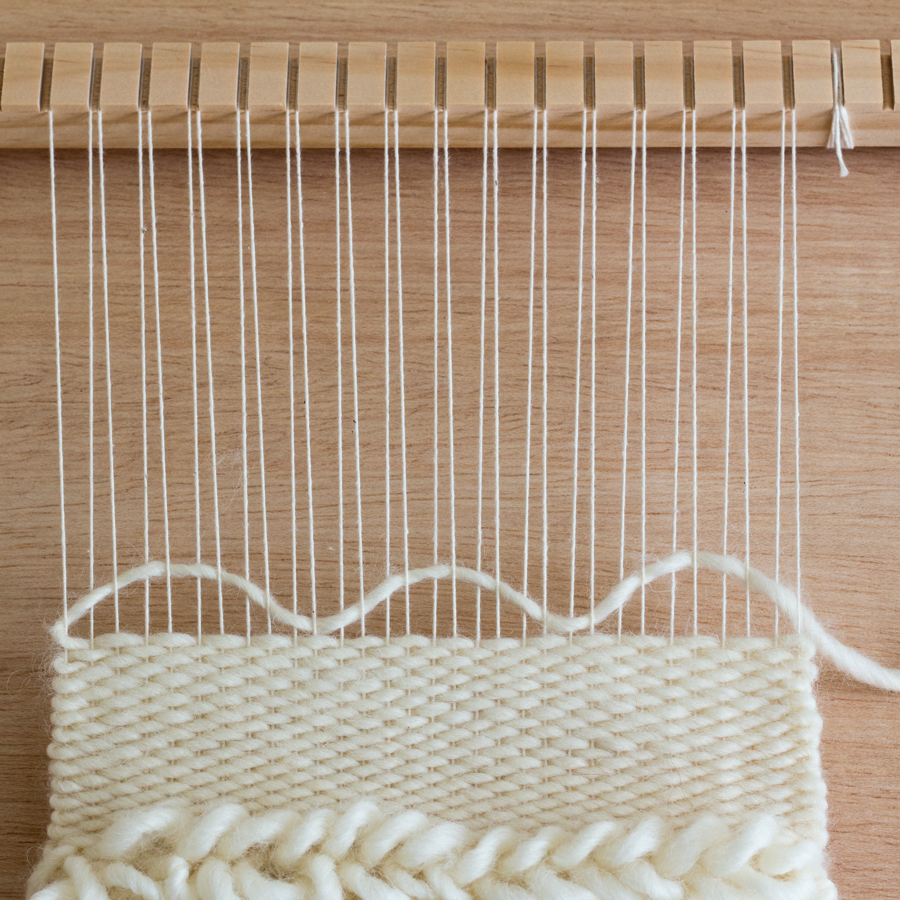 Bubbling the Weft