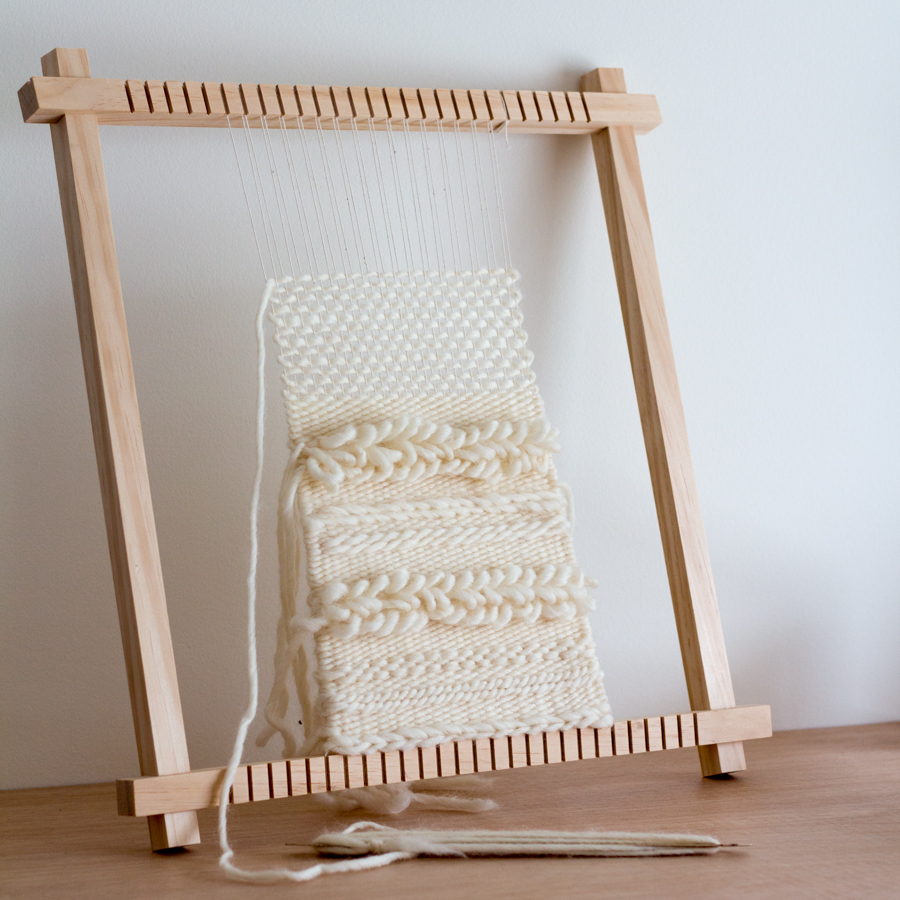 Weaving On Your Frame Loom And The Most Common Problem