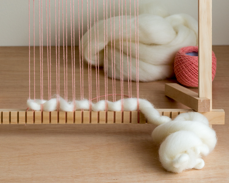 Weaving with Roving - 4