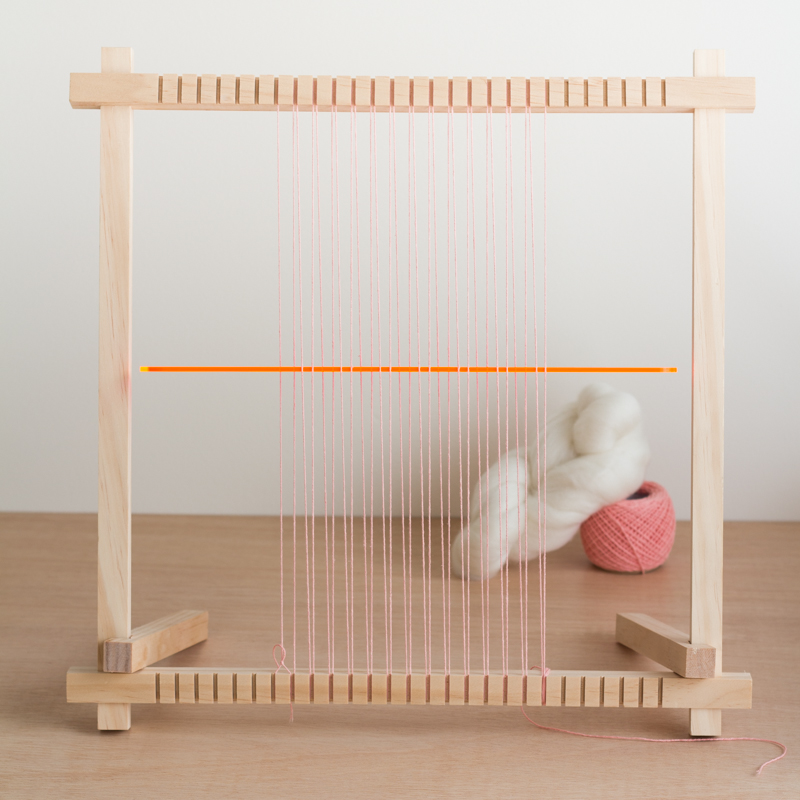 Weaving with Roving - 3