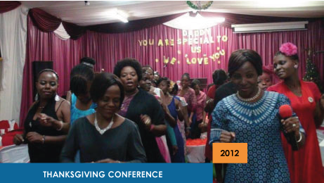Thanksgiving Conference 2012
