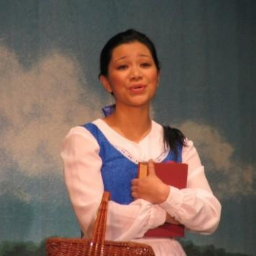 As Belle in Disney's Beauty and the Beast