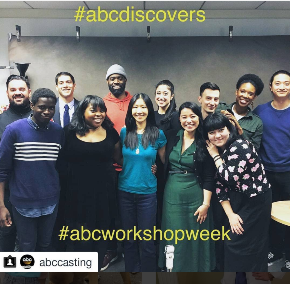 Recently had the pleasure of taking part in ABC Casting's Workshop week! I was one of these many talented folks for the comedy group! Marci Phillips and Erica Hart are two of the kindest and best casting directors in the biz and I'm always thrilled to be in the same room as them. Thank you, ABC!