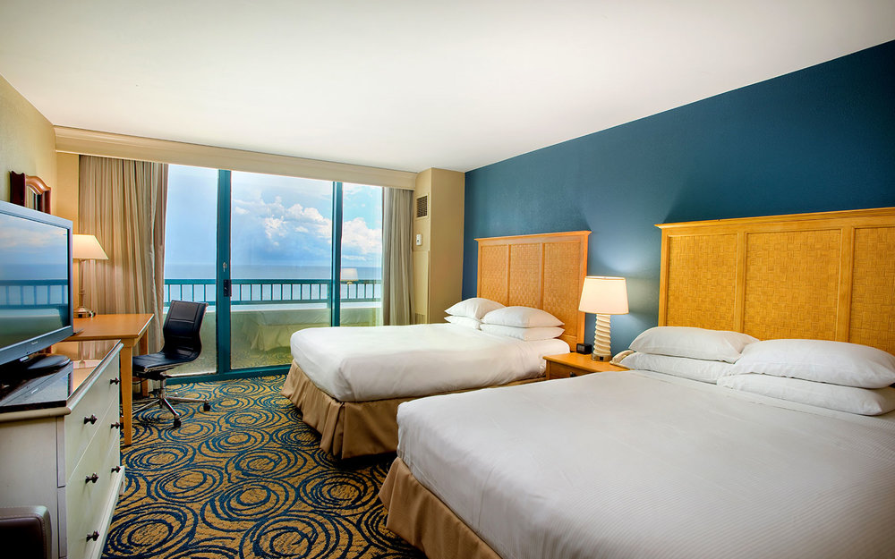 Oceanfront Double Queen Room