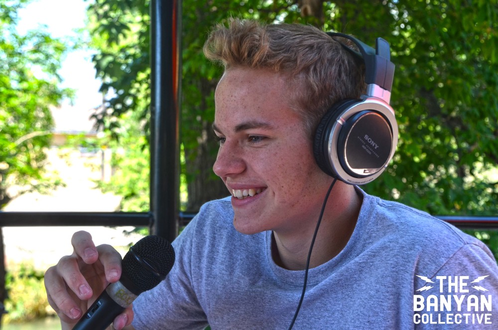 World Youth Climbing Championships athlete Austin Hansel on the Ogden Outdoor Adventure Show.