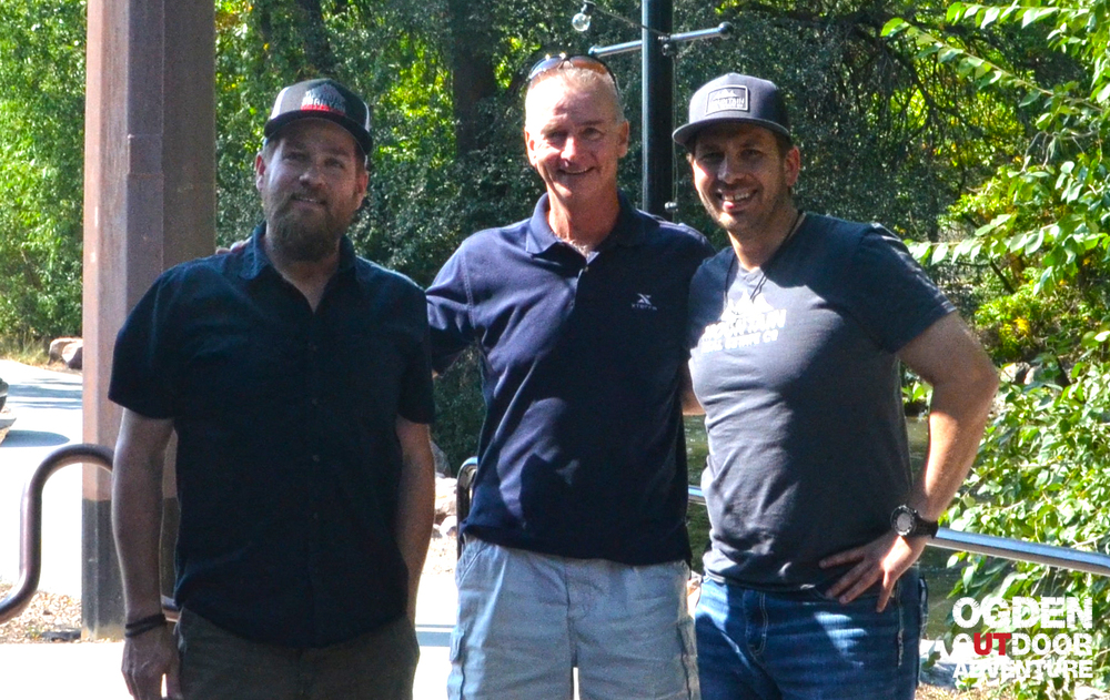 XTERRA CEO Tom Kiely with OOA Show Hosts Todd to the Top and Brandon Long