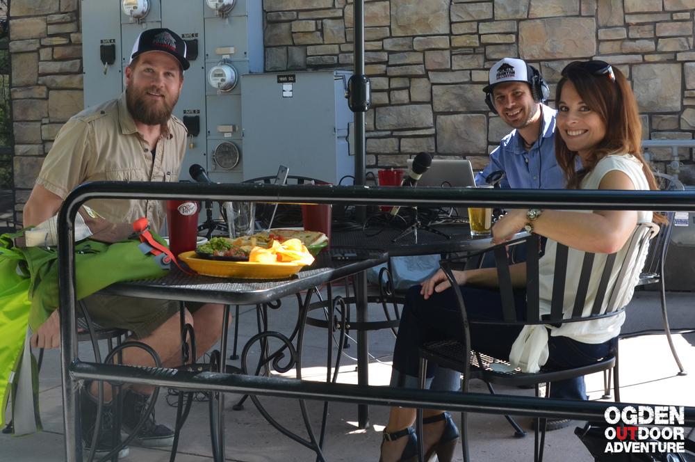 Sara Toliver with Visit Ogden on the Ogden Outdoor Adventure Show!