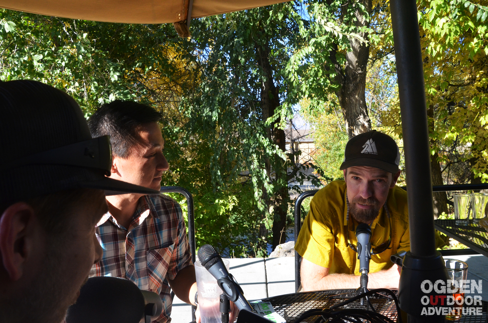Ben Johnson and Tim Nguyen from 2nd Tracks on the Ogden Outdoor Adventure Show.