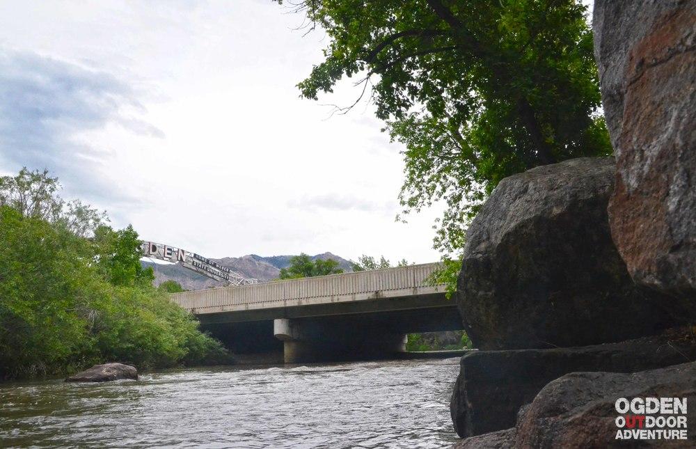 Ogden River Ogden Sign