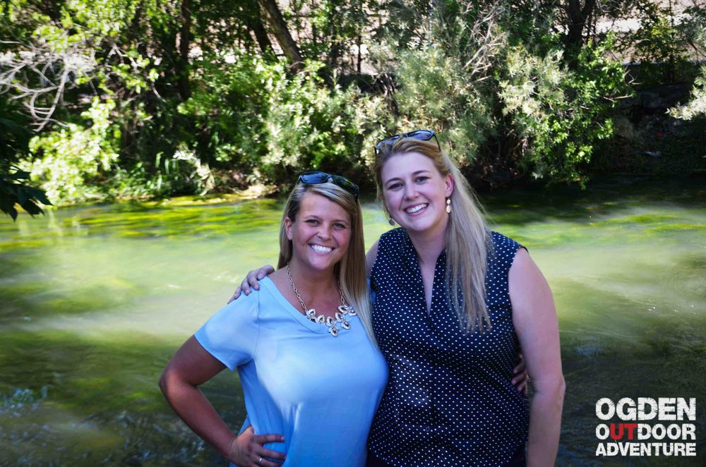 Samantha & Tess - Snowbasin Marketing Power Duo.