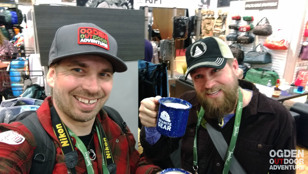 Cheers from Outdoor Retailer!