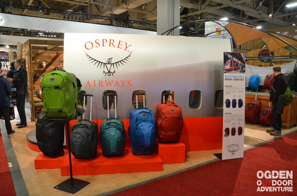 Osprey's travel line displayed in front of the Osprey Airways fuselage.