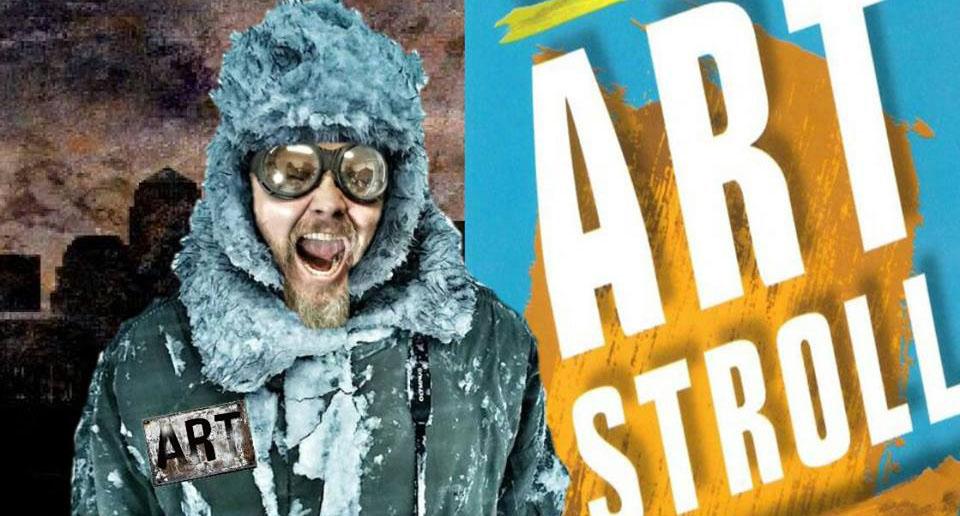 Russ Adams 'Misguided' First Friday Art Stroll Tour