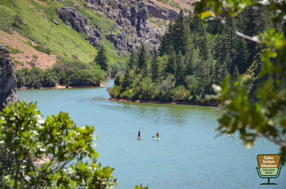 Standup Paddler's on Causey Reservoir