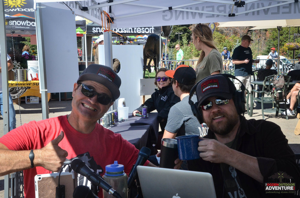 Wojo and Todd to the Top getting Beer ready at the 4th Annual Snowbasin Beer Fest