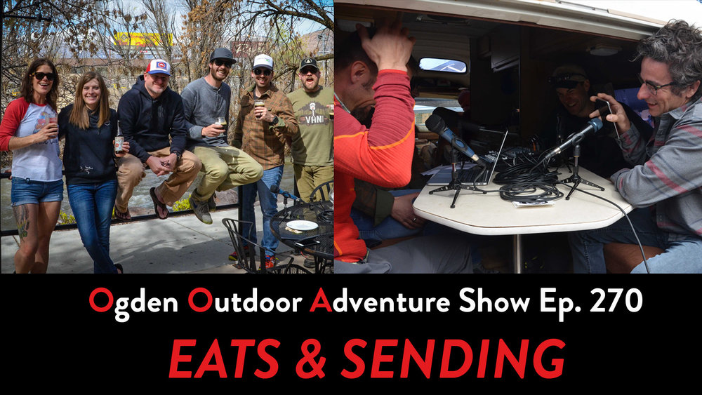 Ogden Restaurant Week and Cedar Wright at the Ogden Climbing Festival