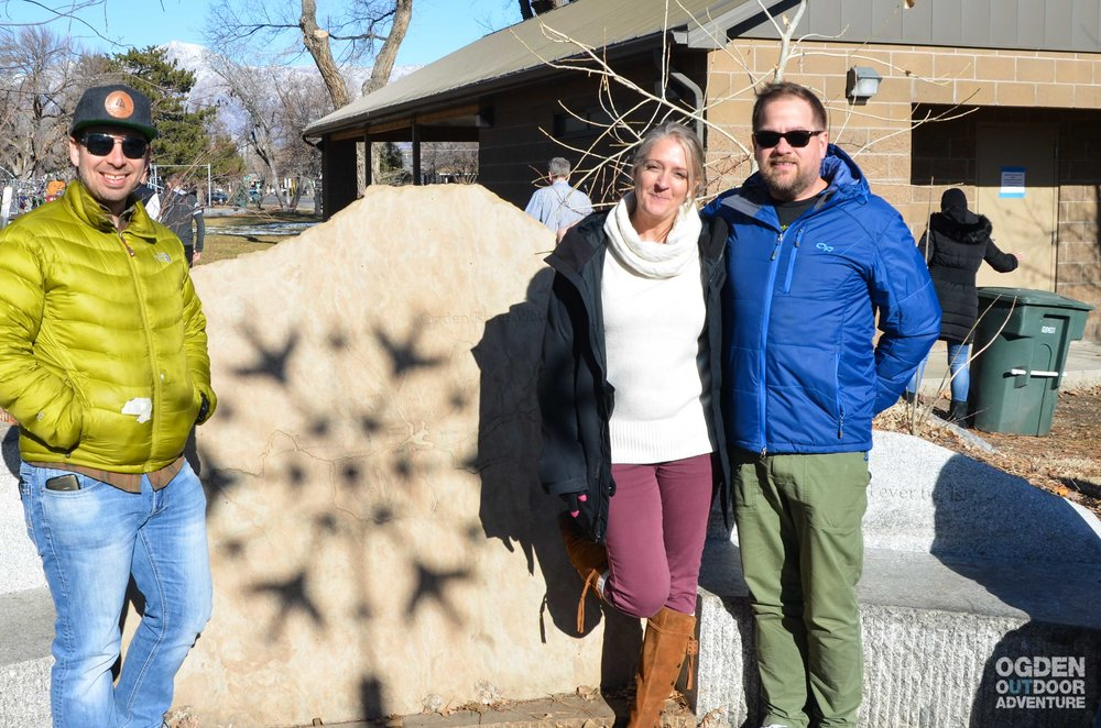 Happy Winter Solstice from the Ogden High Adventure Park with OOA Host R. Brandon Long, Ogden Arts' Lori Buckley, and OOA Co-host Todd Oberndorfer.