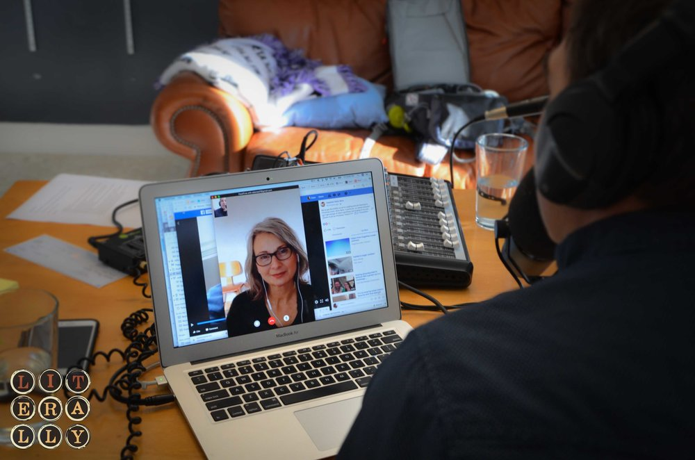 LITerally Host Kase Johnstun FaceTime interview with author, Deborah Reed