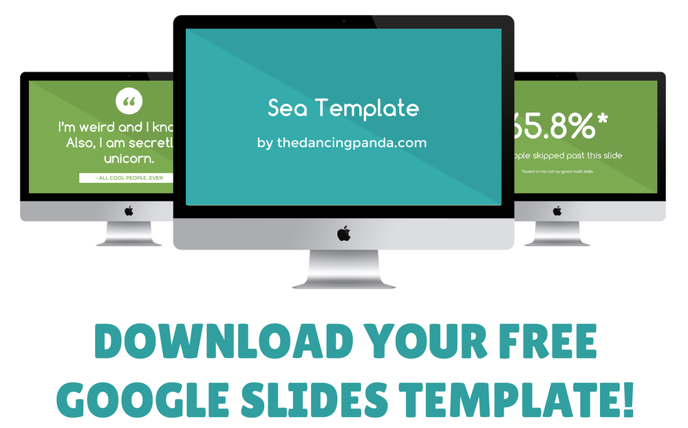 Download your free Google Slides template to start rocking your presentation game!