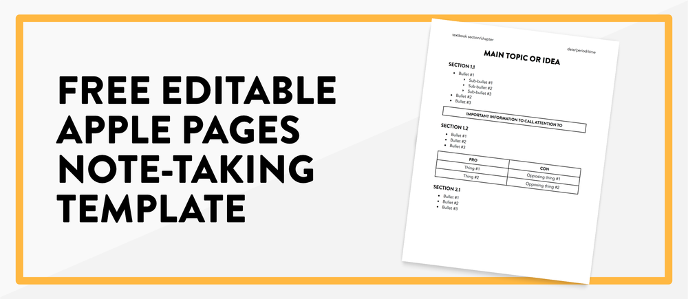 The Ultimate Guide to Taking and Studying Digital Notes (a Handbook for Students + a free printable!)) >> thedancingpanda.com