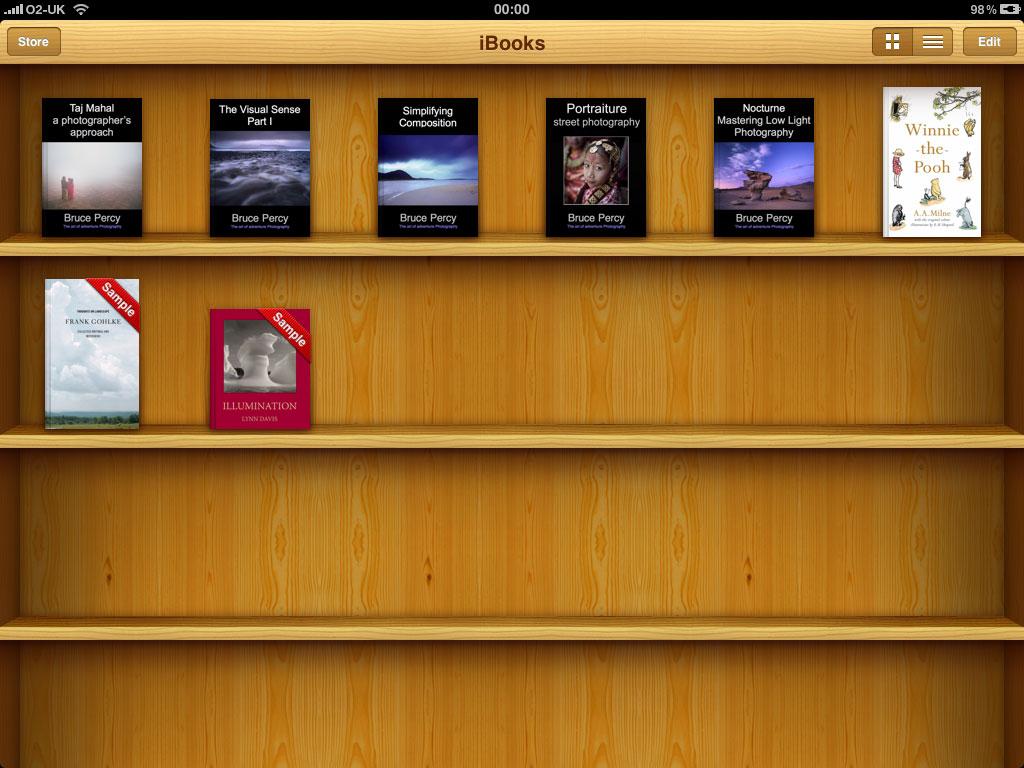 how to delete books of ibooks