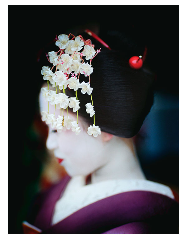 Maiko,京都,日本,© Bruce Percy