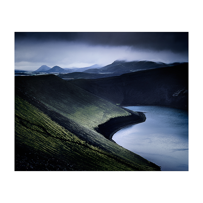 Image made this September 2014, © Bruce Percy. Shot on a Mamiya 7II rangefinder with 150mm lens.  Right in the heart of the Fjallabak region of Iceland. Perhaps my most favourite place in Iceland to date.