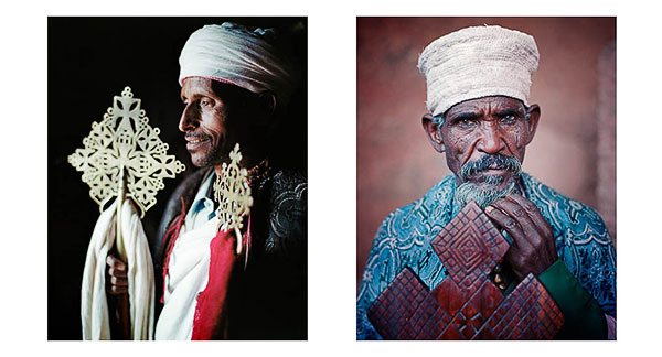 Portraits of Deakons, Orthodox Christian Lalibela, Ethiopia, © Bruce Percy 2010