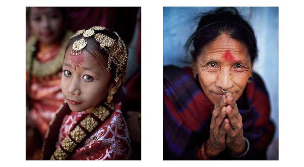 Portraits of Kathmandu, Nepal. © Bruce Percy 2009