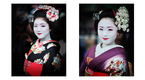 Portraits of Geisha. I'd been feeling a sense of stagnation about my portraiture work, and since I'd always had a love for the beauty of Geisha, felt a real desire to go make some photographs of them in 2014. © Bruce Percy
