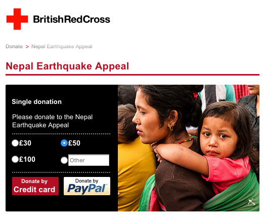 click on the image to be taken to the British Red Cross web site.