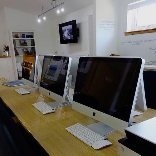 Adrian Hollister's Digital Darkroom Studio, Mellon Charles, Wester Ross, Scotland