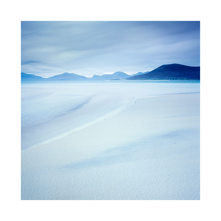 White sand, Seilebost beach, Isle of Harris, November 2014. © Bruce Percy