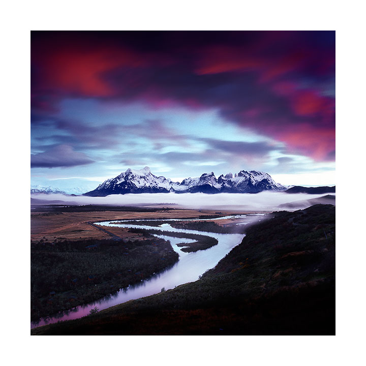 Rio Serrano & Paine Massif, Torres del Paine National Park, Chilean Patagonia, 2015
