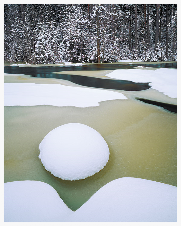 Nianån River, February 1992, Image © Hans Strand. Used by kind permission.