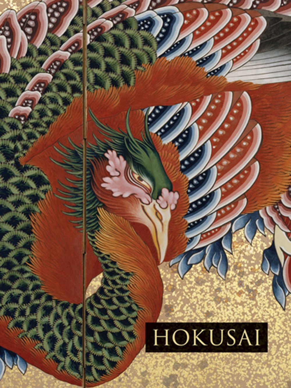 This is a beautifully illustrated book of Hokusai's work. I find that just looking and enjoying the work, that I am finding inspiration.