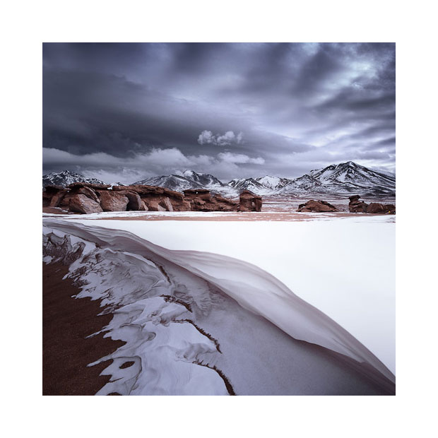 The Siloli desert, Bolivian Altiplano.