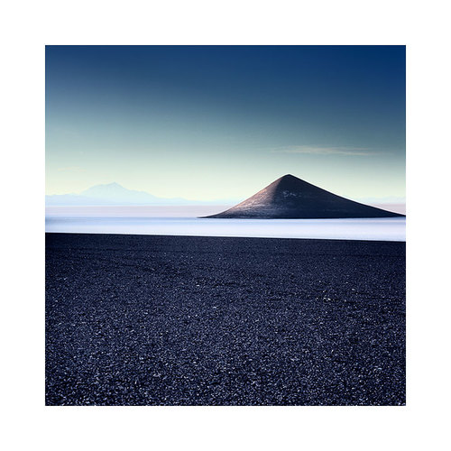 When I made this photograph of this small volcanic cone in Argentina, I'm sure I tapped into my ability to remain within the scene while at the same time be outside of it. My camera is a great way of giving space between myself and my subjects.