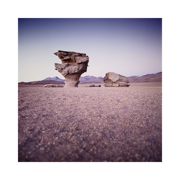 El Arbol de Piedra, Siloli Desert, Bolivia 2016 Image © Bruce Percy 2016