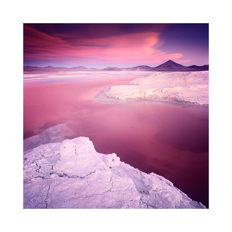 Borax field, Laguna Colorada, Bolivia Image © Bruce Percy 2016