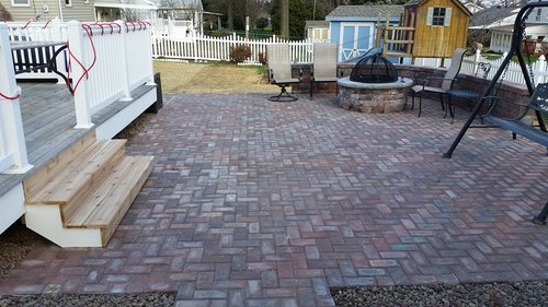 PatiosWalk WaysRetaining Walls BLS LANDSCAPING CONSTRUCTION - Different types of patios