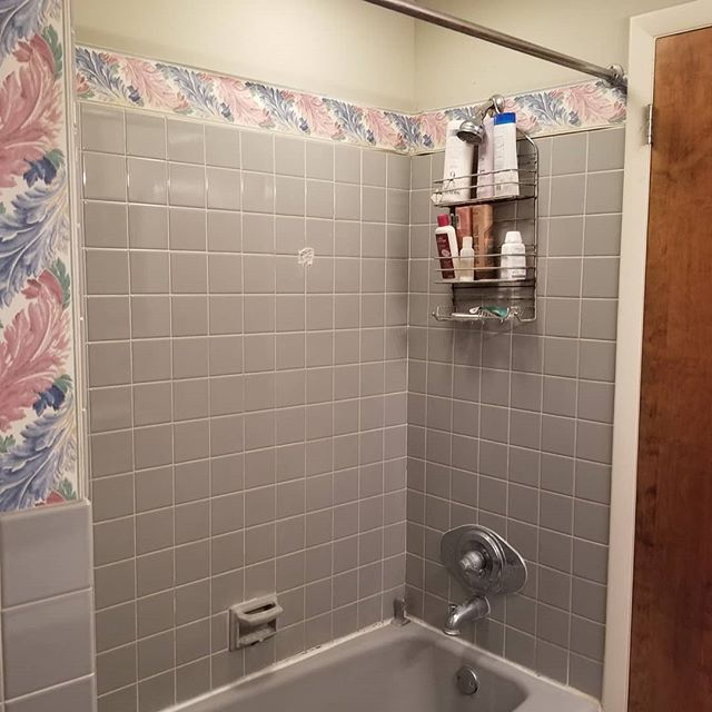 1960s bathroom brought to modern day!