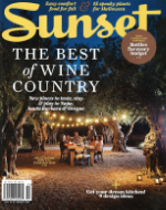 October 2015 Sunset Magazine
